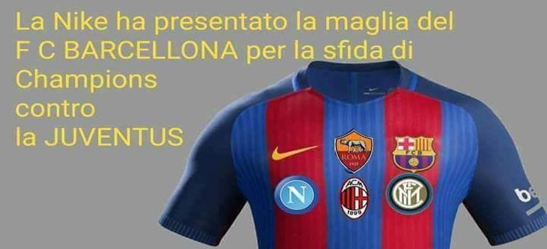La maglia dei tifosi del Napoli